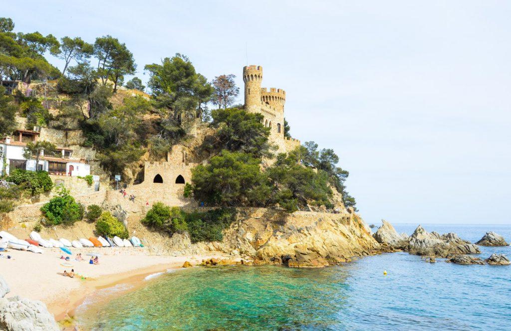 El castillo d'En Plaja tiene algo menos de 80 años de antigüedad